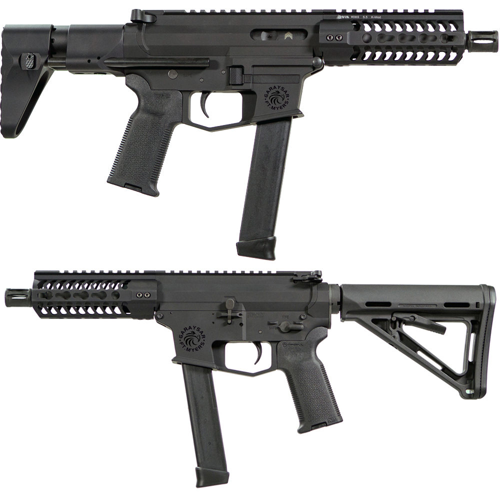 Submachine Guns: FEAR-ME9G 9mm Glock Submachine Gun